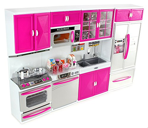 My modern kitchen full deluxe kit battery operated toy for My perfect kitchen products