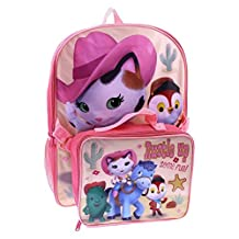 "Disney Sheriff Callie 16"" Backpack with Lunch Kit"