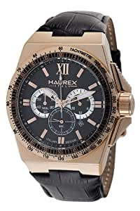 Haurex Italy Men's 9R340UNH Yacht Chrono Brown Dial Watch