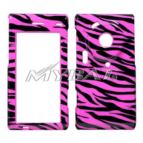 (Zebra Skin/Hot Pink Phone Protector Cover for SAMSUNG T929 (Memoir))