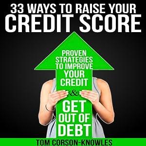 33 Ways to Raise Your Credit Score Audiobook