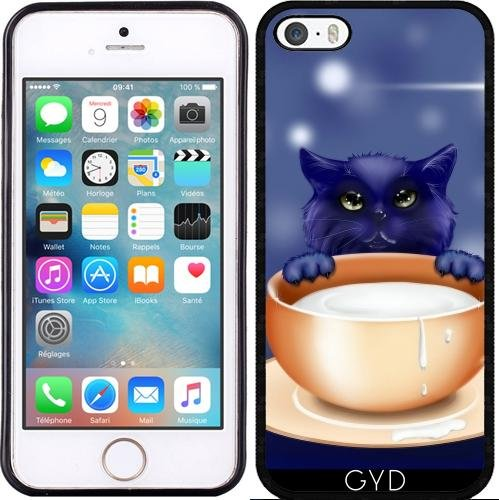 Coque pour Iphone SE - Fantaisie Chat Chaton Bébé Animal by WonderfulDreamPicture