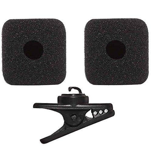 (Shure RK377 | Replacement Clip 2 Foam Windscreens for PGA31 Headset Microphone)