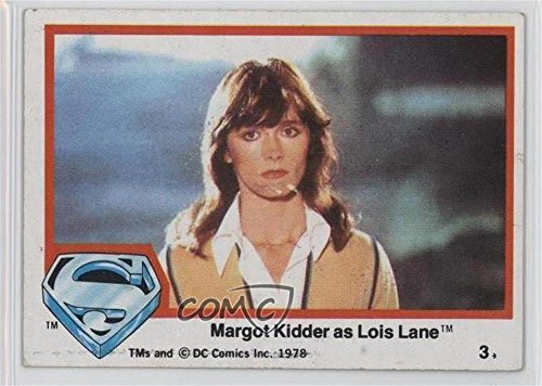 Margot Kidder as Lois Lane Ungraded COMC Good to VG-EX (Trading Card) 1978 Topps Superman The Movie - [Base] (Margot Kidder Lois Lane)