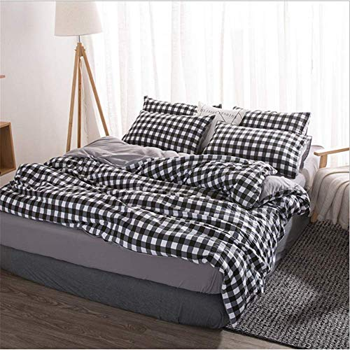 SSHHJ Home Textiles Bedding Sets Duvet Cover Pillowcase Queen King Twin Size Comforter A 200x230cm