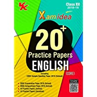 Xam Idea 20 Plus CBSE Sample Papers English(Core) Class 12 for 2019 Exam