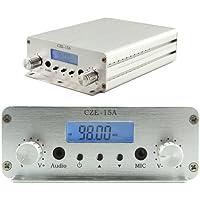 CZH CZE-15A 3W/15W FM Stereo PLL Broadcast Transmitter 87.5-108MHZ