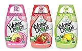 Sweetleaf Stevia Natural Water Drops Variety Pack with Raspberry Lemonade, Lemon Lime & Strawberry Kiwi (1.62 Ounce Each)