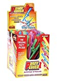 Party Pecker Sipping Straws Assorted Colors 144 Per Display