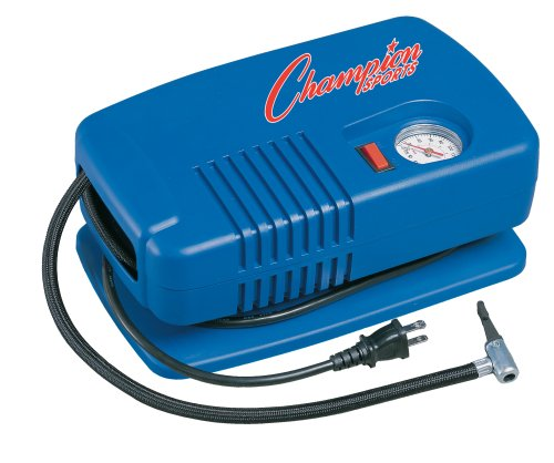 Champion Sports Deluxe Electric Equipment Inflating Air Pump