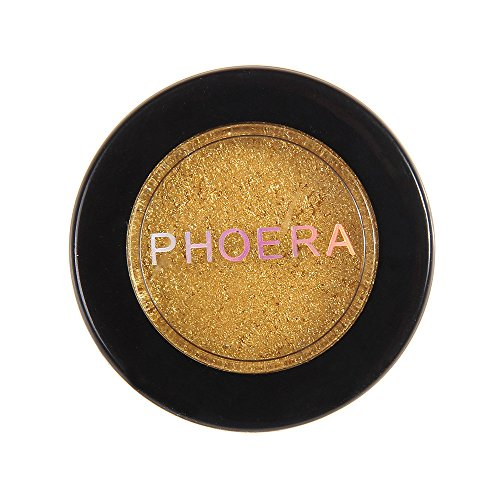 (Monochrome eye shadow Glitter Shimmering Colors Eyeshadow Metallic Eye Cosmetic (F))