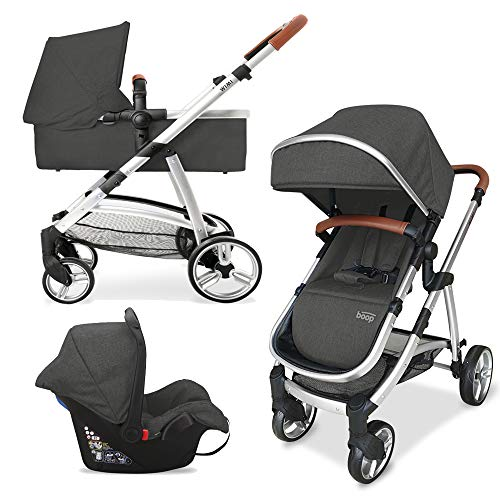 ASALVO 16003 Trio Wimi Dark Grey, Multi-Colour