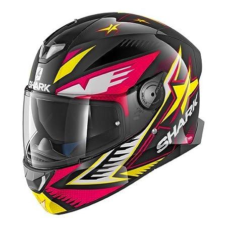 taglia M casco da moto Shark Skwal 2/Draghal nero//rosso