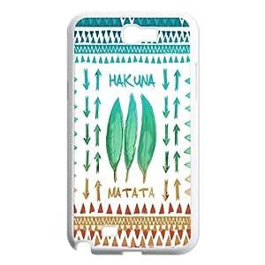 Unique Phone Case Pattern 18Hakuna Matata Lion King- For Samsung Galaxy Note 2 Case