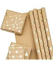 RUSPEPA Gift Wrapping Paper Sheet