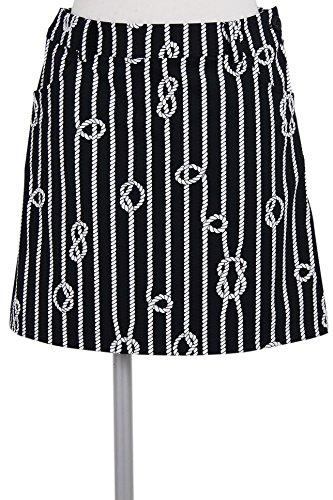 スカート レディース ブラック&ホワイト Black&White 2018 春夏 ゴルフウェア M(M) ブラック(20) b4018lshi