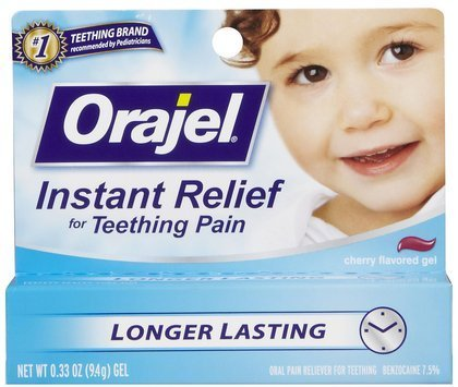 Bébé Orajel Teething Gel - 0,33 oz