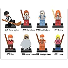 Harry Potter and the Sorcerer's Stone 8 Set Action Figures Collectables (8 Pieces) Minifigure Series Building Blocks with Lego