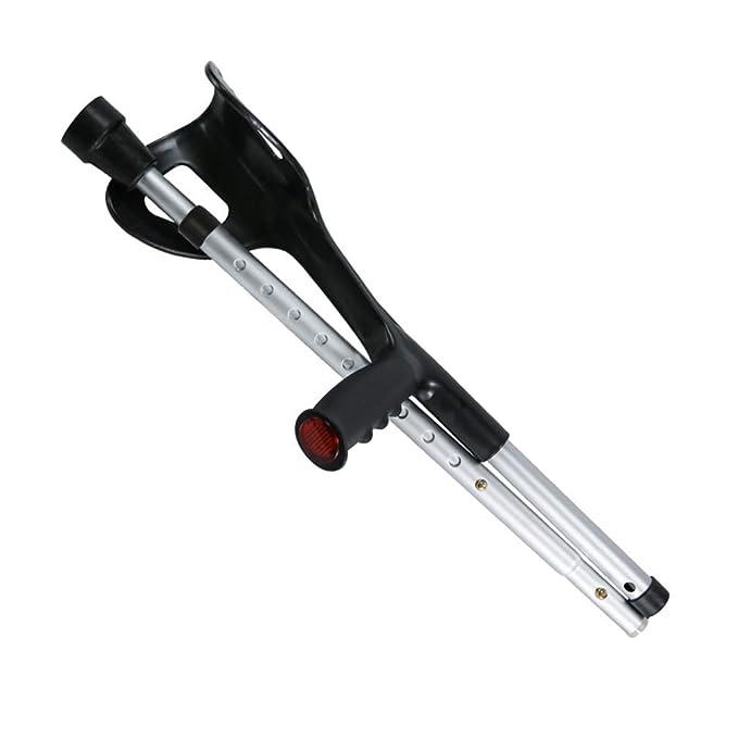 SBRTL Codo Plegable Muleta Diseño Plegable Ayuda Aluminio Ligero ...