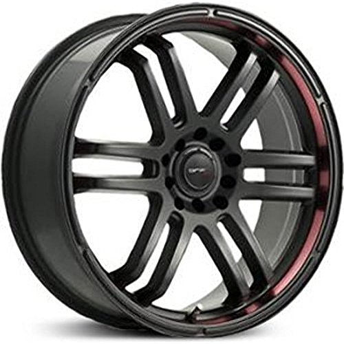 Drifz FX 17×7.5 Black Wheel / Rim 5×110 & 5×115 with a 38mm Offset and a 73.00 Hub Bore. Partnumber 207B-7754338