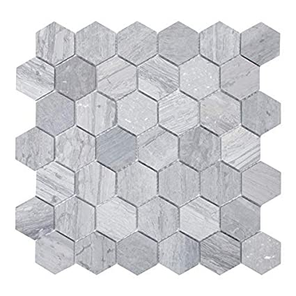 Maykke Cooper 10 Pack Mosaic Wall And Floor Tile 12 X 12 Mini