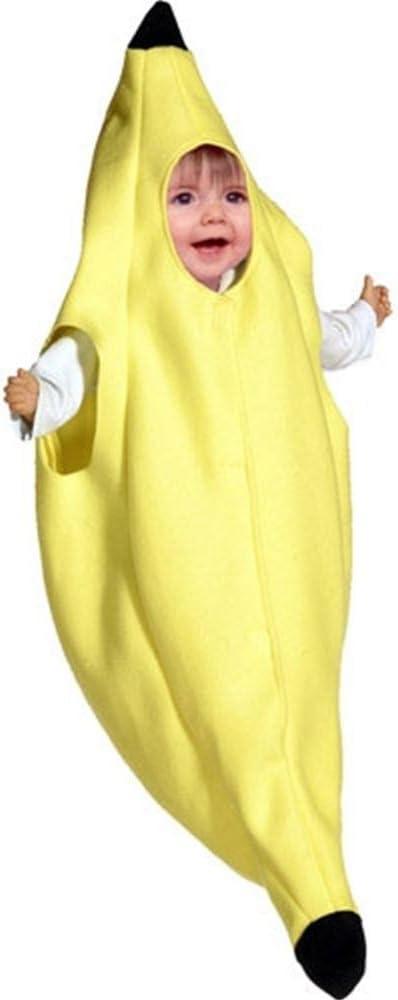 Disfraz de plátano para bebé: Amazon.es: Juguetes y juegos