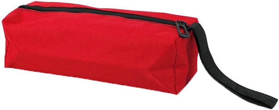 Zipper Tool Bag Pouch Organize Storage Small Parts Hand Tool Plumber Canvas Bag