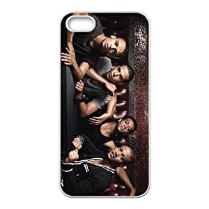 iPhone 5 5s Cell Phone Case White Boy band IHC Cell Phone Case Protective 3D