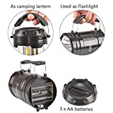 3 Pack Portable Outdoor COB Camping Lantern with