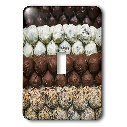 (3dRose Danita Delimont - Candy - Belgium, Bruges. Belgian chocolates. - 2 plug outlet cover (lsp_313067_6))