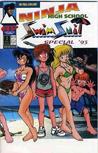 Ninja High School Swimsuit Special #2 VG ; Antarctic comic -