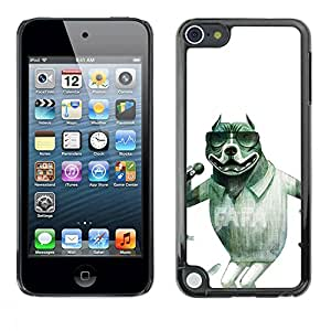 All Phone Most Case / Hard PC Metal piece Shell Slim Cover Protective Case Carcasa Funda Caso de protección para Apple iPod Touch 5 Singer Sunglasses Pit-Bull Funny