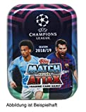 Topps 2018-19 Match Attax Champions League Cards - Mini Tin (42 Cards + LE Gold)