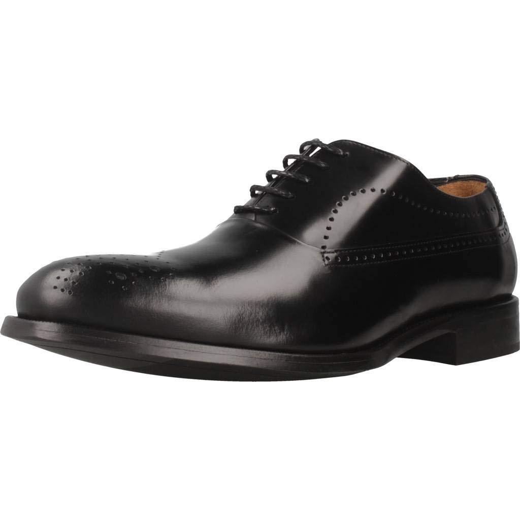 TALLA 42 EU. Zapatos de Cordones para Hombre, Color marrón, Marca ANGEL INFANTES, Modelo Zapatos De Cordones para Hombre ANGEL INFANTES 11092A Marrón
