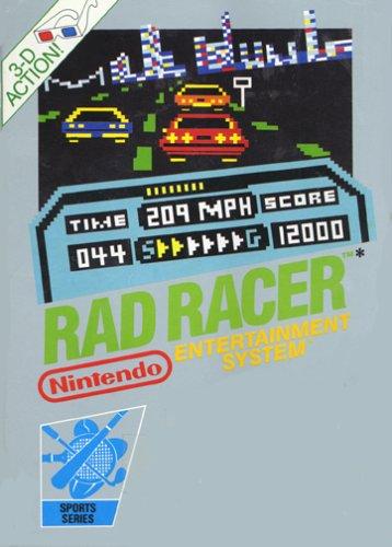 Rad Racer nintendo entertainment system