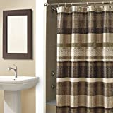 Croscill Curtains Croscill Portland Shower Curtain, 70-Inch by 72-Inch, Multi