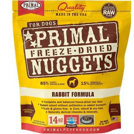 Primal Pet Foods Freeze-Dried Canine Rabbit Formula, 14 Oz by Primal Pet Foods