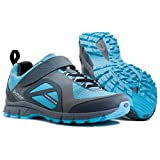 Northwave Women's Escape Evo Indoor Cycling Shoe - 80153006-89 (Anthracite/Blue - 38)