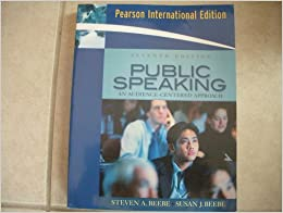 Public Speaking an Audience Centered Approach 7th ...