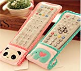 XINXIANGLIAN Transparent Remote Controller Protective Cover Electric Appliance Remote Control Protective Film 2 Pieces of Sale (Large size, pink)