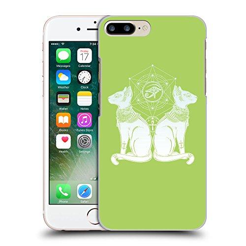 GoGoMobile Coque de Protection TPU Silicone Case pour // Q09490628 Chat égyptien 2 poule // Apple iPhone 7 PLUS