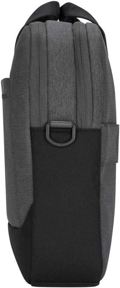 Light Gray TBT92602GL Targus Cypress Briefcase with EcoSmart Designed for Business Traveler and School fit up to 15.6-Inch Laptop//Notebook