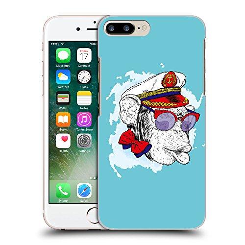 GoGoMobile Coque de Protection TPU Silicone Case pour // Q05000627 Capitaine singe Cyan // Apple iPhone 7 PLUS