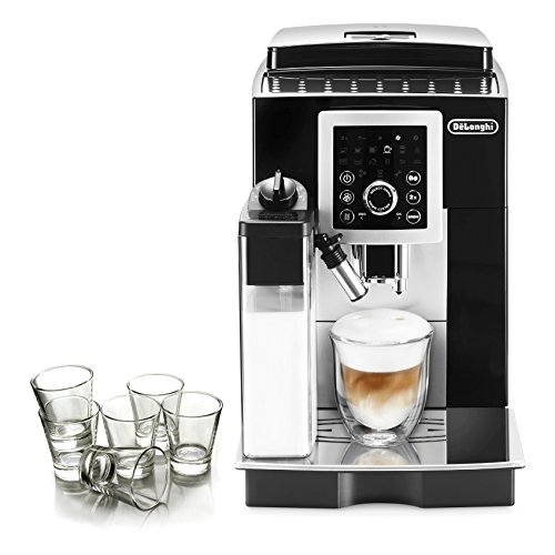 DeLonghi Magnifica S Black Smart Automatic Cappuccino ...
