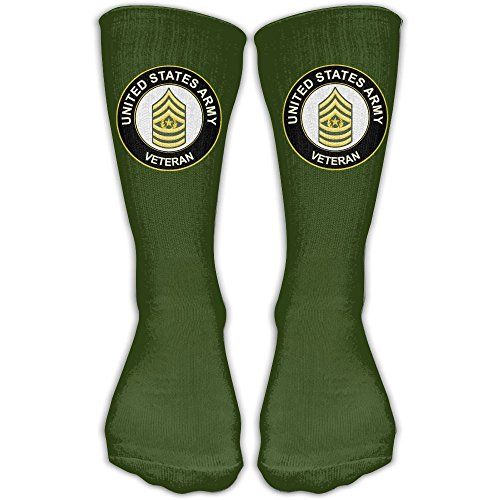 US Army Command Sergeant Major Veteran Comfort Cotton Ankle High Socks For Women & (Command Sergeant Major Of The Army)