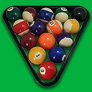 WALIKEN Triangle Rack Pool Table Ball Holder Positioning Rack Billiard Accessory Magic Ball Rack Holder Sheet
