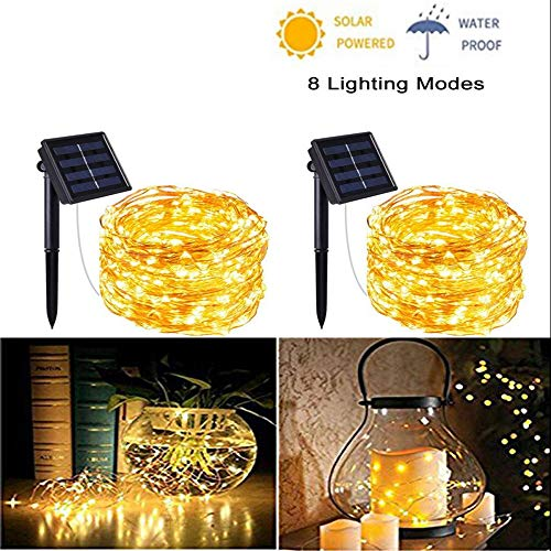 Bright Solar Garden Fairy Lights in US - 8