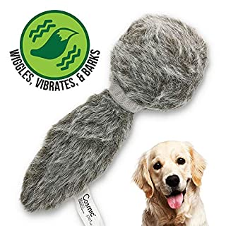 Hyper Pet Doggie Tail Interactive Plush Dog Toys (Wiggles, Vibrates, and Barks – Dog Toys for Boredom and Stimulating Play)