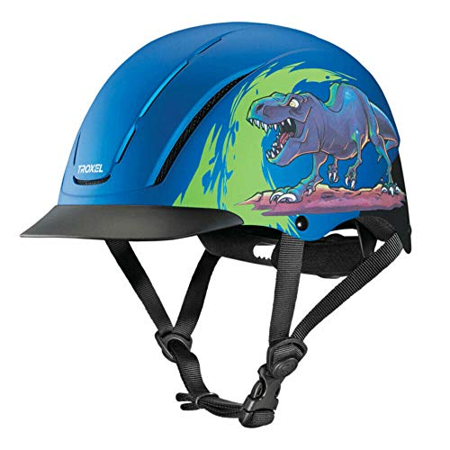 - Troxel Spirit Blue T-REX Safety Horse Riding Training Adjustable Helmet (X-Small 6 1/4