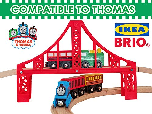 26526df2369 Wooden Train Tracks Full Set